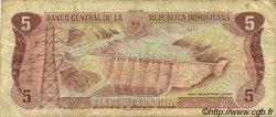 5 Pesos Oro RÉPUBLIQUE DOMINICAINE  1990 P.131 TB