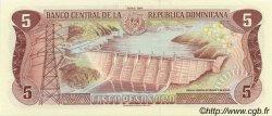 5 Pesos Oro RÉPUBLIQUE DOMINICAINE  1990 P.131 NEUF