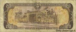 20 Pesos Oro RÉPUBLIQUE DOMINICAINE  1992 P.139a TB