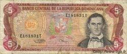 5 Pesos Oro RÉPUBLIQUE DOMINICAINE  1994 P.146 TB+