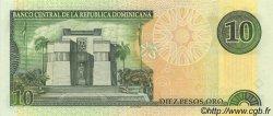 10 Pesos Oro RÉPUBLIQUE DOMINICAINE  2001 P.165a NEUF