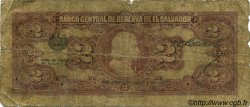 2 Colones SALVADOR  1942 P.076 AB