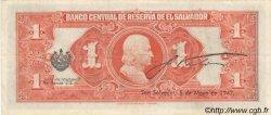 1 Colon SALVADOR  1944 P.083 SUP