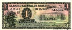 1 Colon SALVADOR  1959 P.090b pr.NEUF