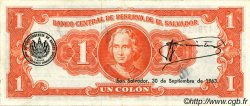 1 Colon SALVADOR  1960 P.090b SUP+