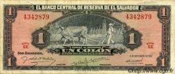 1 Colon SALVADOR  1957 P.093 TB+