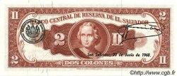 2 Colones SALVADOR  1964 P.101a NEUF