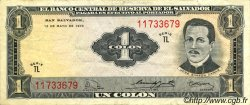 1 Colon SALVADOR  1970 P.110b TTB