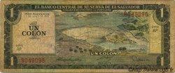 1 Colon SALVADOR  1977 P.125a TB