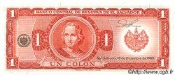 1 Colon SALVADOR  1980 P.125b NEUF