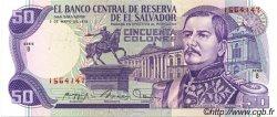50 Colones SALVADOR  1979 P.131a NEUF
