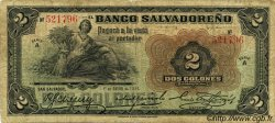 2 Colones SALVADOR  1929 PS.222 B+