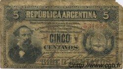 5 Centavos ARGENTINA  1884 P.005 G
