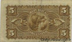 5 Centavos ARGENTINE  1884 P.005 TTB