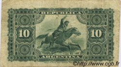 10 Centavos ARGENTINE  1884 P.006 TB à TTB