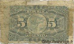 5 Centavos ARGENTINE  1891 P.209 AB