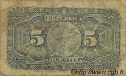 5 Centavos ARGENTINE  1891 P.209 TB