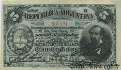 5 Centavos ARGENTINE  1891 P.209 pr.SUP