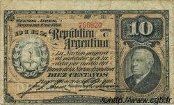 10 Centavos ARGENTINE  1891 P.210 TB+