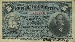 5 Centavos ARGENTINE  1892 P.213 SPL