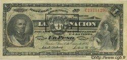1 Peso ARGENTINE  1895 P.218a SUP