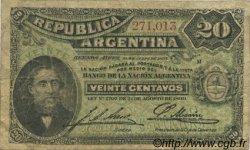 20 Centavos ARGENTINE  1895 P.229 B+