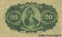 20 Centavos ARGENTINE  1895 P.229