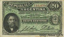 20 Centavos ARGENTINE  1895 P.229 SPL