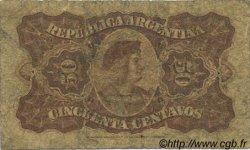 50 Centavos ARGENTINE  1895 P.230 B