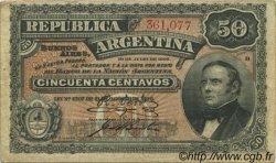 50 Centavos ARGENTINE  1895 P.230 TTB