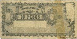 10 Pesos ARGENTINE  1900 P.237 B+