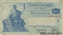 50 Centavos ARGENTINE  1926 P.242A TB à TTB