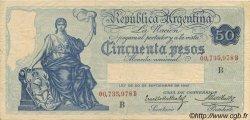 50 Pesos ARGENTINE  1925 P.246b TTB à SUP