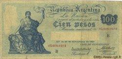 100 Pesos ARGENTINE  1926 P.247b pr.TB