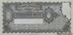 500 Pesos ARGENTINE  1929 P.248b TTB