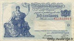 50 Centavos ARGENTINE  1942 P.250a pr.SUP