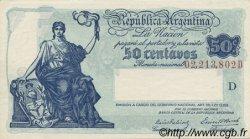 50 Centavos ARGENTINE  1942 P.250b NEUF