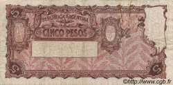 5 Pesos ARGENTINE  1935 P.252a TB