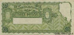 10 Pesos ARGENTINE  1936 P.253a TTB+