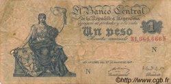 1 Peso ARGENTINE  1948 P.257 TB