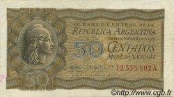 50 Centavos ARGENTINE  1950 P.259 TTB+