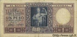 1 Peso ARGENTINE  1952 P.260b TB