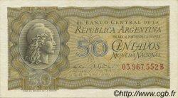 50 Centavos ARGENTINE  1951 P.261 SUP