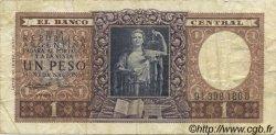 1 Peso ARGENTINE  1956 P.263 TB