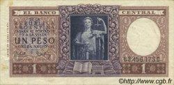1 Peso ARGENTINE  1956 P.263 TTB