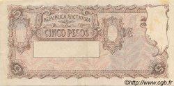 5 Pesos ARGENTINE  1951 P.264c SUP