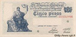 5 Pesos ARGENTINE  1951 P.264c pr.NEUF