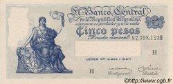5 Pesos ARGENTINE  1951 P.264d NEUF