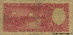 10 Pesos ARGENTINE  1942 P.265a B