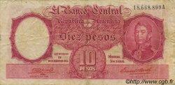 10 Pesos ARGENTINE  1942 P.265a TTB